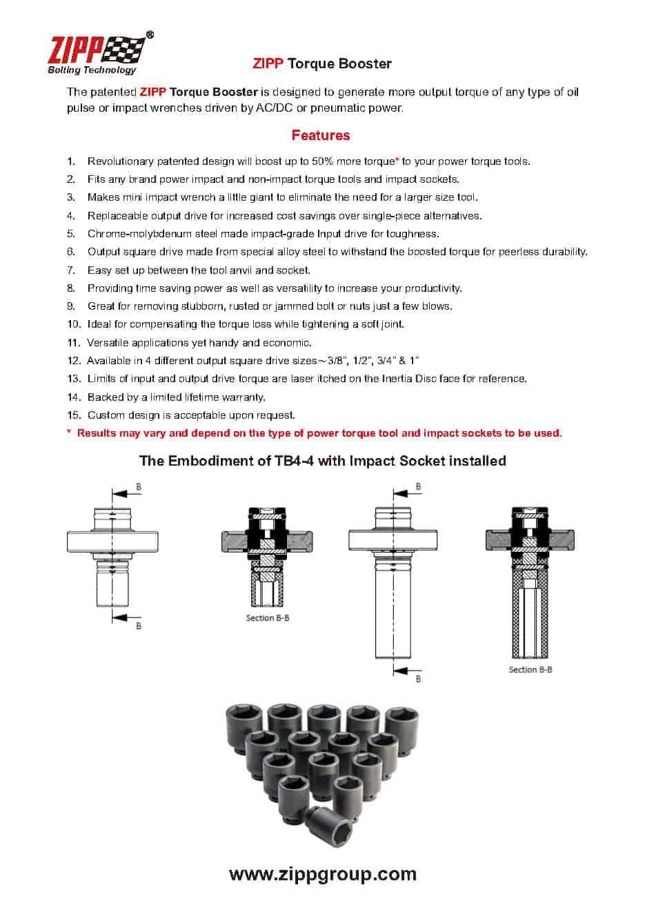 Booster de torque inovador para quaisquer ferramentas elétricas 2
